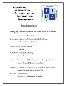 Journal of International Technology and Information Management